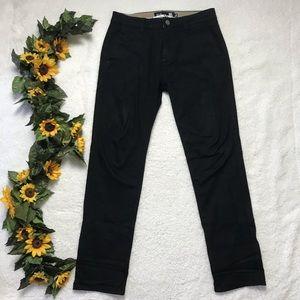 Men's RSQ Black Slim Straight Pants 30x30